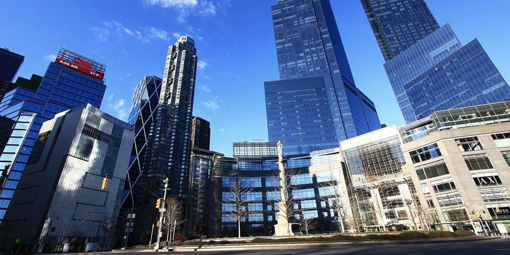 Admira la rotonda mas especial de Manhattan, la Columbus circle.