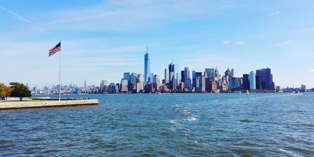Panorámica de Nueva York en verano.
