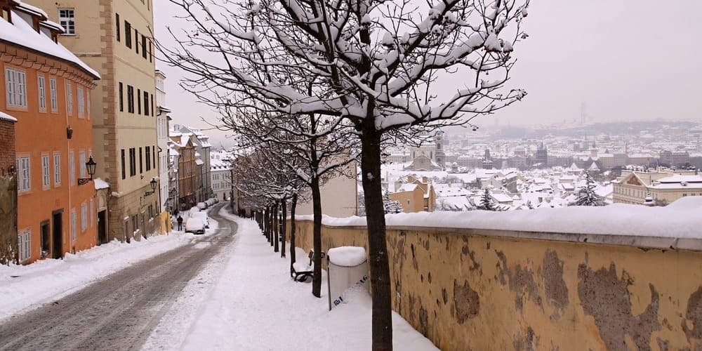 El clima en Praga en junio