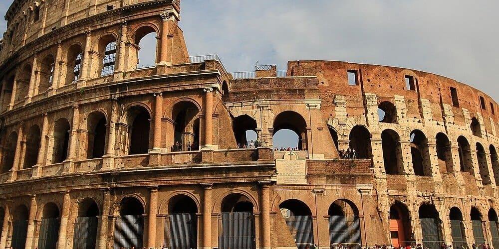 Detalle del Coliseo de Roma