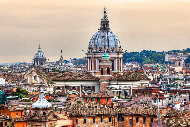 Tiempo, clima y temperatura en Roma en abril
