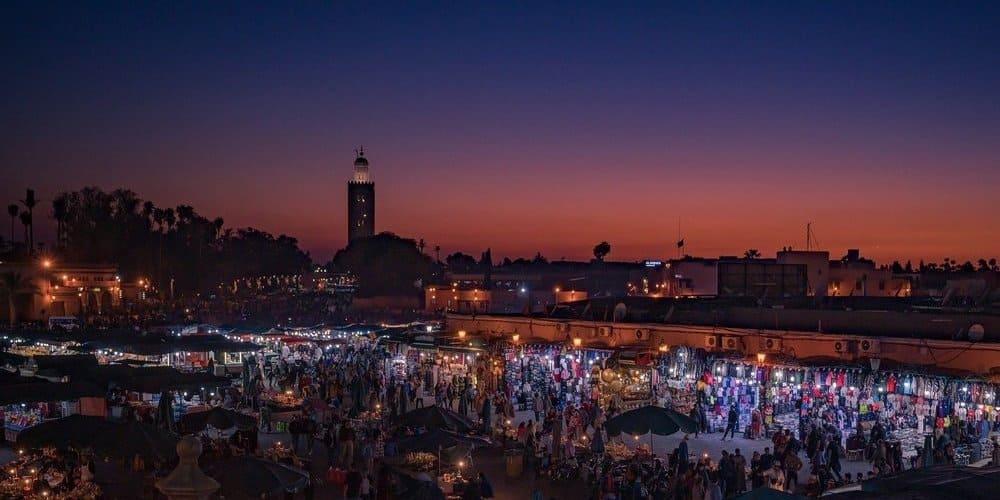 El tiempo en Marrakech en mayo