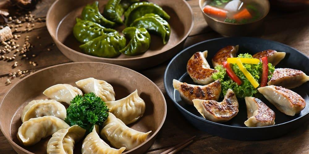 Autenticos Dumplings, que puedes comer en Nueva York en Chinatown