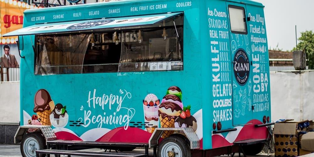 Puestos callejeros o food trucks donde comer en Nueva York