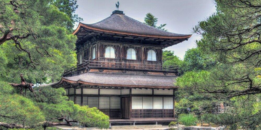Templo de plata de Kioto durante el tour desde Tokio