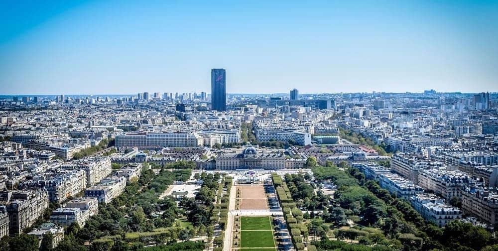 Vistas desde la Torre Eiffel impresionantes