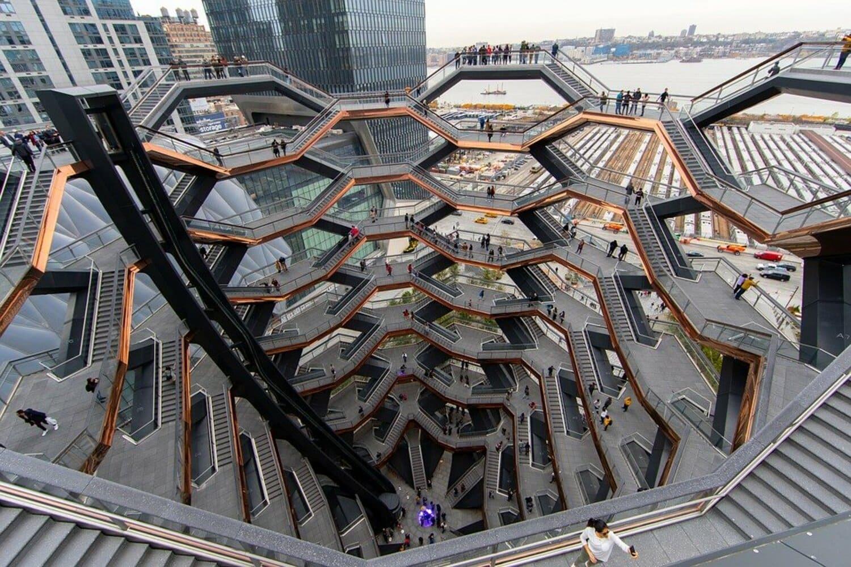 El último monumento construido con mucho éxito entre los visitantes