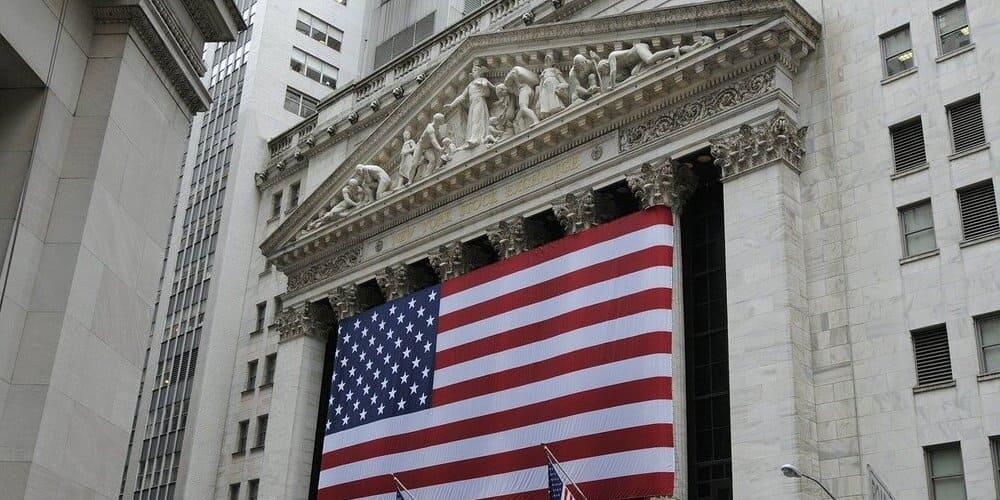 Edificio de la Bolsa en Wall Street