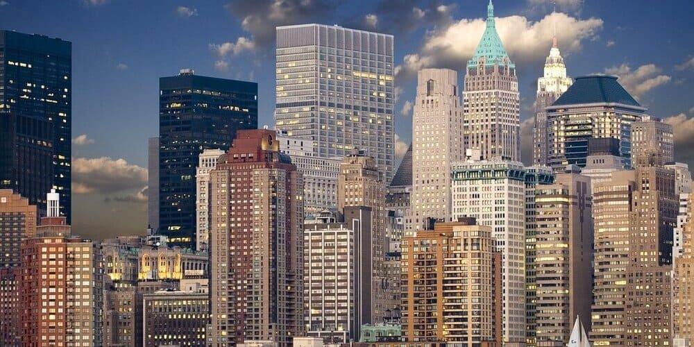 Rascacielos de Nueva York durante la visita con la New York Pass
