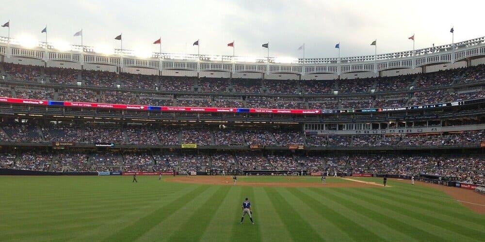 Estadio de los Yankees en el Bronx