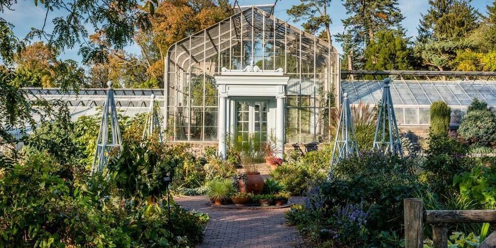 Entrada del Jardín Botánico de Nueva York