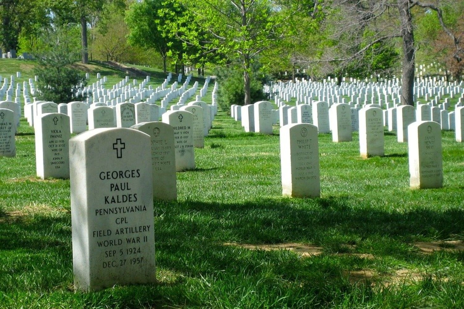 Cementerio de Arlington en Washington