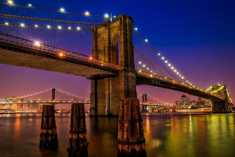El puente más famoso de la ciudad