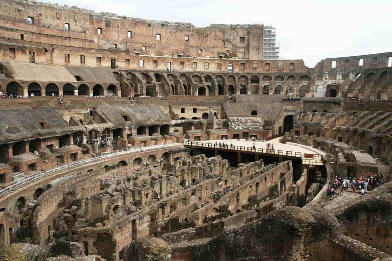 Partes del Coliseo Romano: curiosidades de su construcción