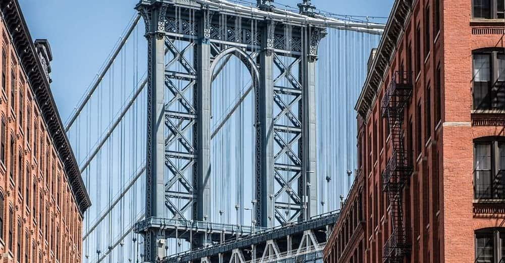 Puentes de Nueva York más famosos - el Manhattan Bridge