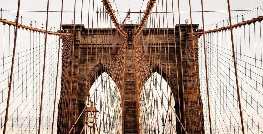El Brooklyn Bridge, el puente de Nueva York más turístico