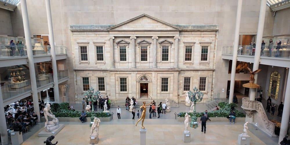 Exposición en el Museo Metropolitano de Nueva York.