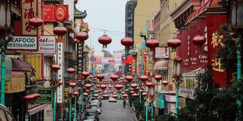 Excursión a Chinatown durante el viaje en Nueva York en 3 días.