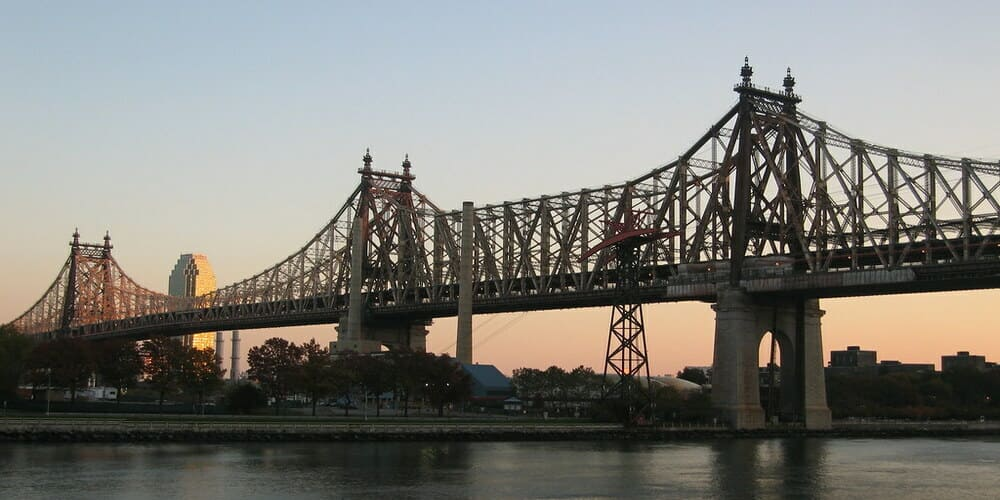 Obtén las mejores vistas del skyline desde el Puente Queensboro