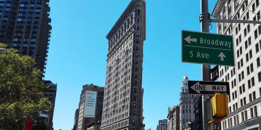 Torre Flatiron en Nueva York
