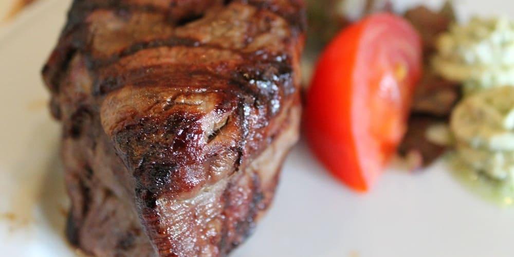 Carne a la brasa, típica en Nueva York