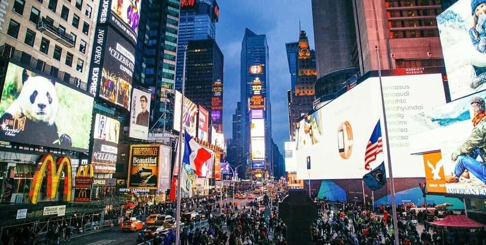 Itinerario nocturno por la ciudad de Nueva York