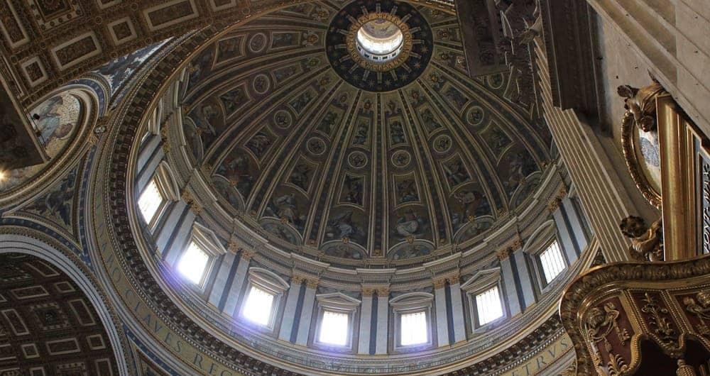 Cúpula de San Pedro del Vaticano
