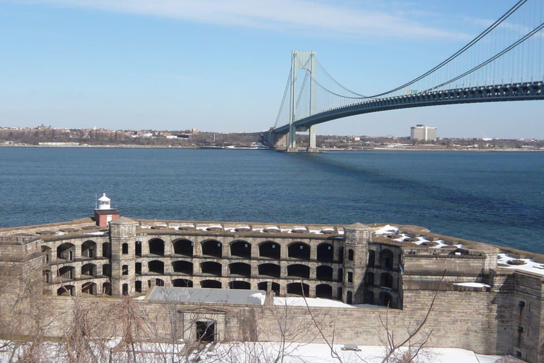 La fortaleza militar de Wadsworth en Staten Island