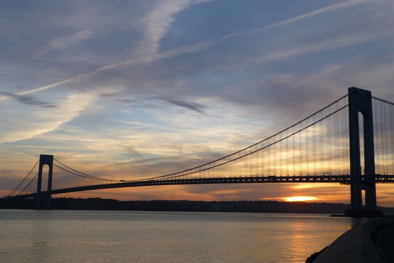 El puente colgante más largo de Estados Unidos