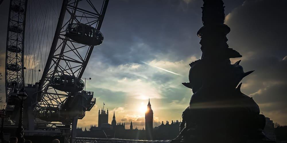 Tiempo nublado en Londres en mayo.