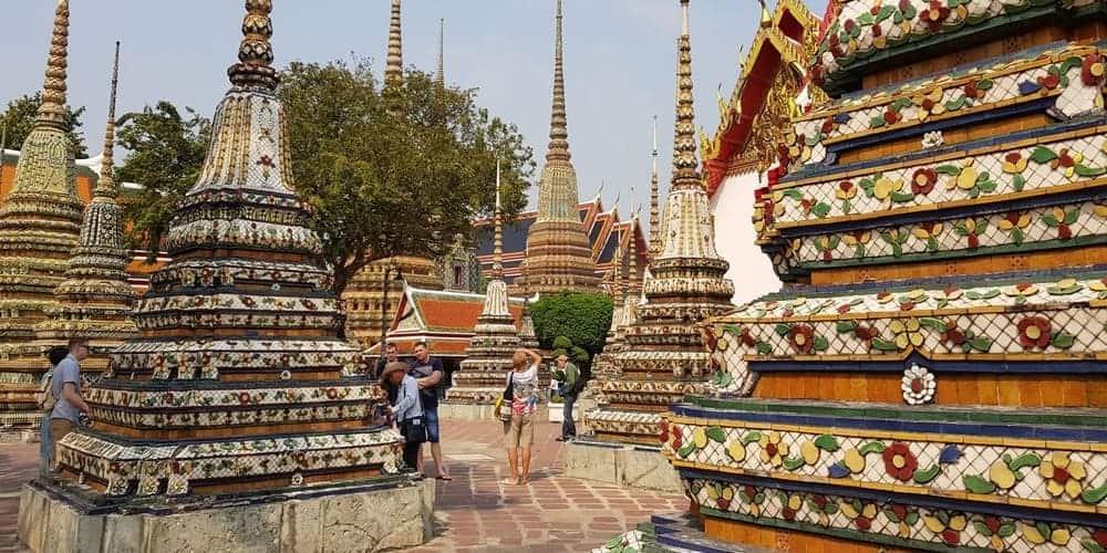 Wat Pho, el Templo del Buda Reclinado de Bangkok