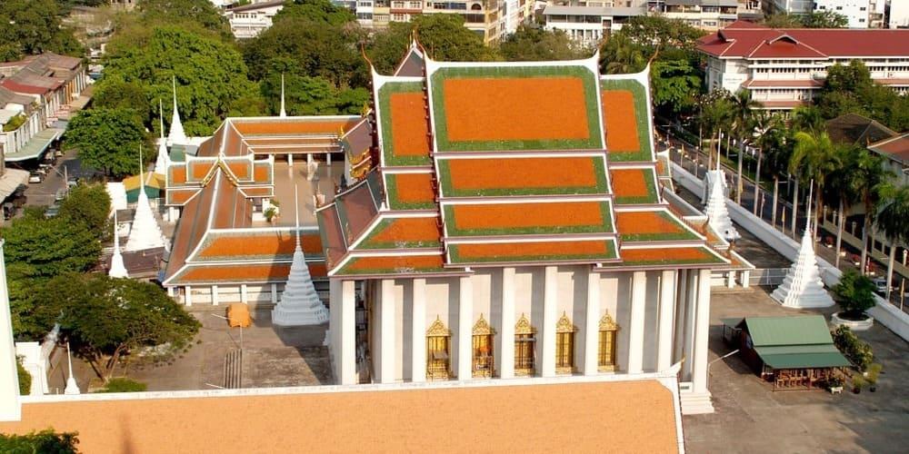 Los templos más importantes de Bangkok - Wat Saket
