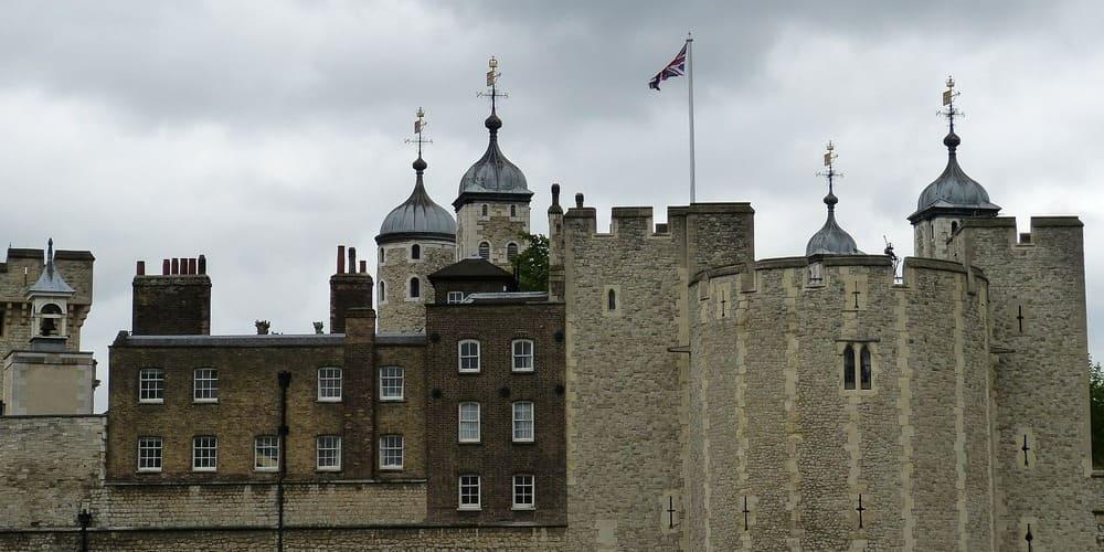 Torre de Londres durante el mes de mayo.