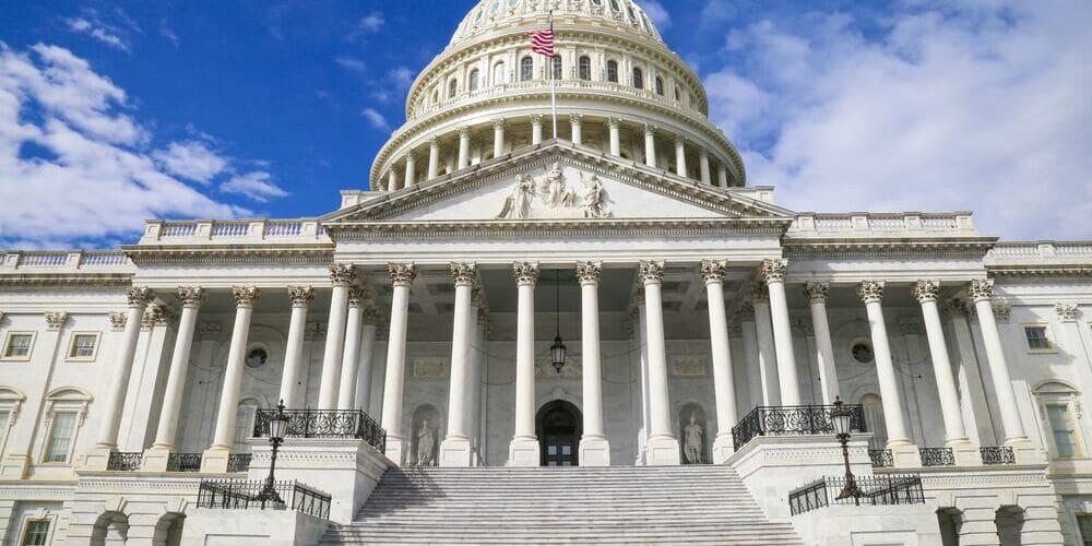 Capitolio de Washington durante la excursión desde Nueva York.