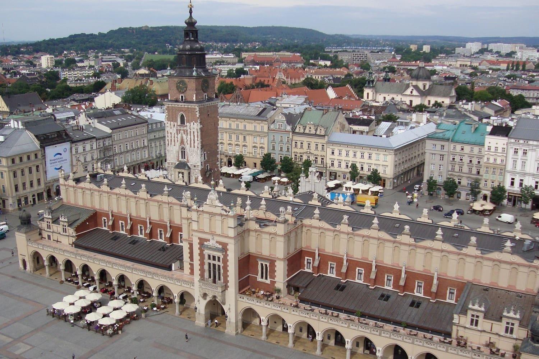 Tiempo, clima y temperatura en Cracovia en abril
