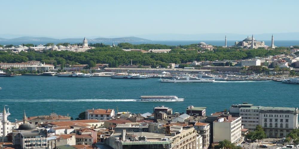 La temperatura en Estambul en abril en un crucero