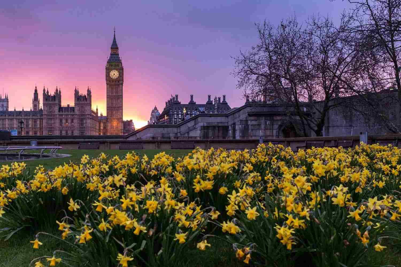 Tiempo, clima y temperatura en Londres en mayo