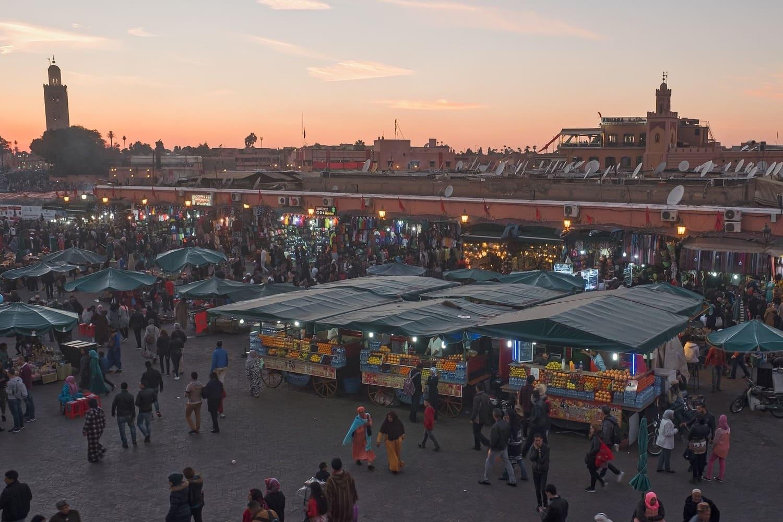 Tiempo, clima y temperatura en Marrakech en junio