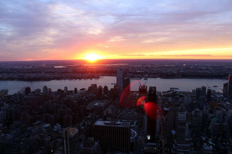 Tiempo, clima y temperatura en Nueva York en agosto