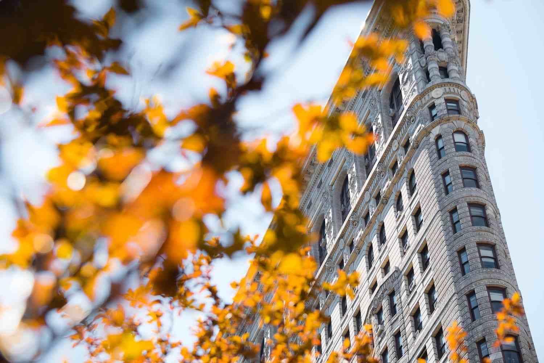 Tiempo, clima y temperatura en Nueva York en noviembre