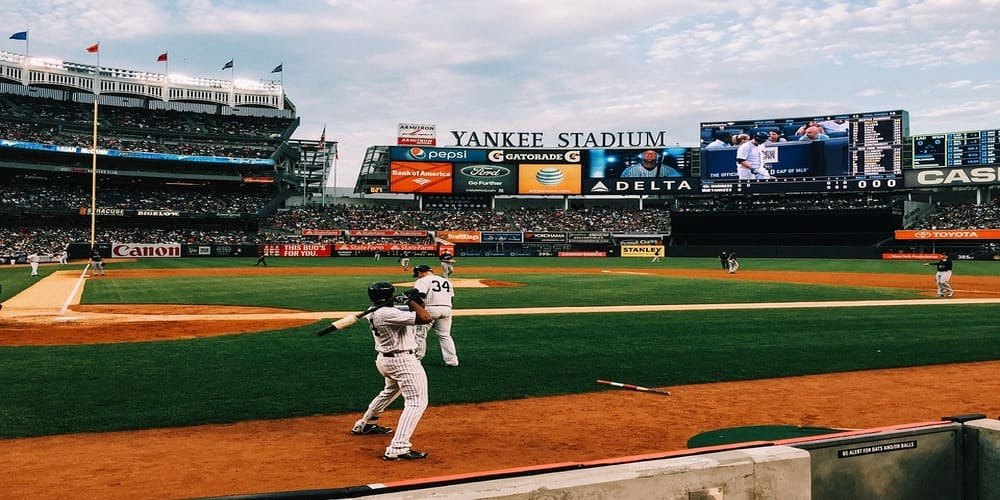 La temperatura en Nueva York en abril en un partido de beisbol
