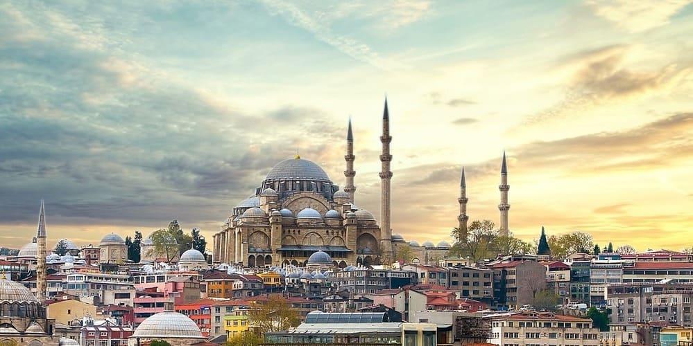 Vistas que ofrece el tiempo en Estambul en junio.