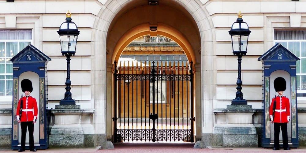 Entrada al palacio de Buckigham