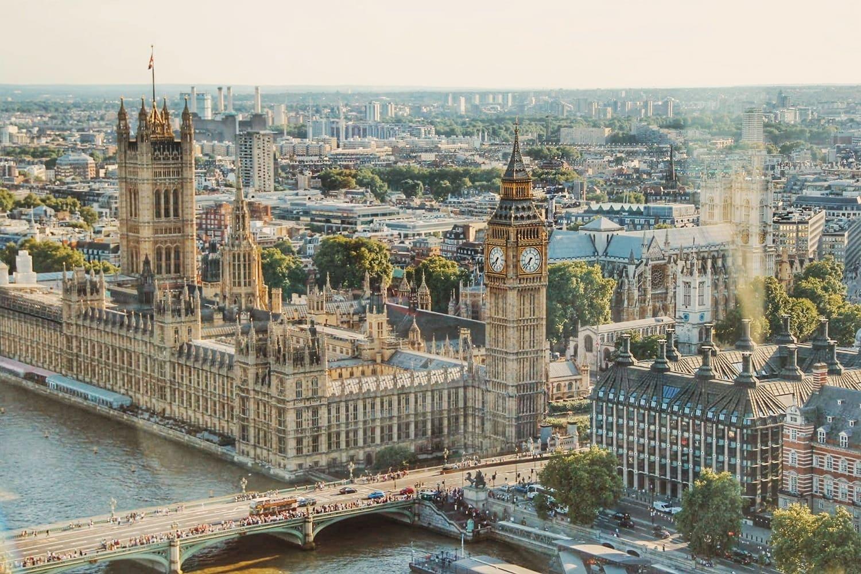 Panoramica de la temperatura, tiempo y clima en Londres en Abril