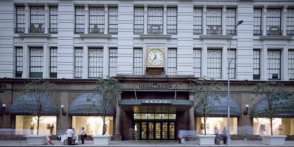 Los famosos grandes almacenes de Macy's en Manhattan