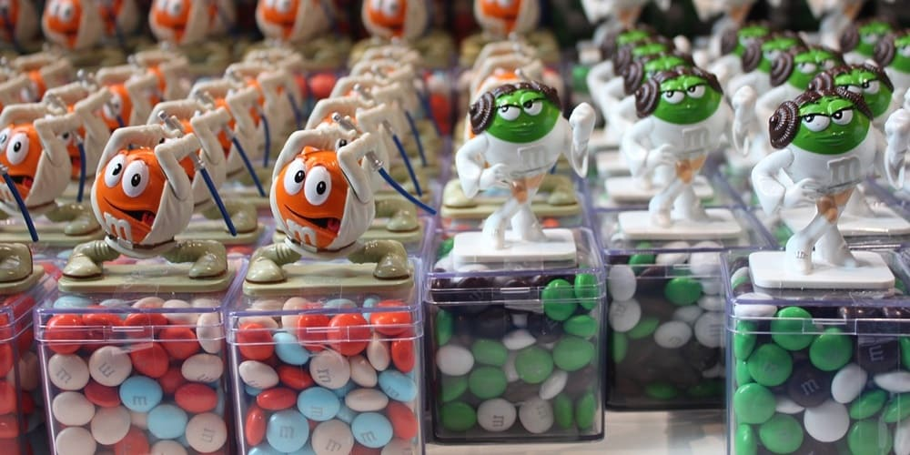 Chocolatinas de la famosa tienda de M&Ms