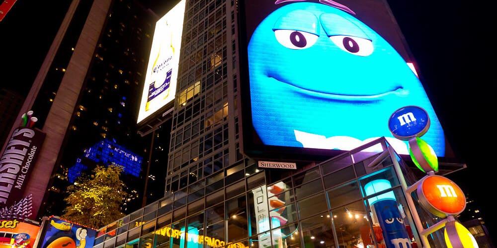 Tienda en Times Square