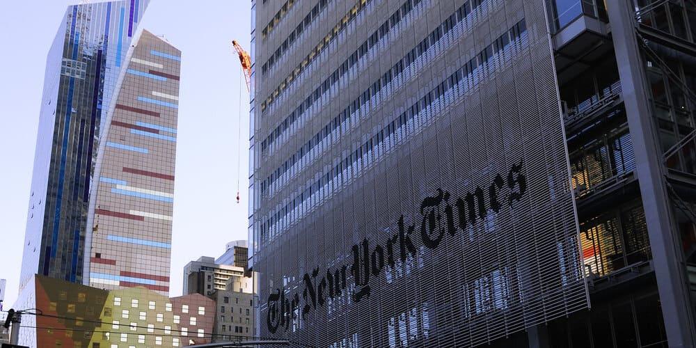 Rascacielos conocido como Tower Times en Nueva York