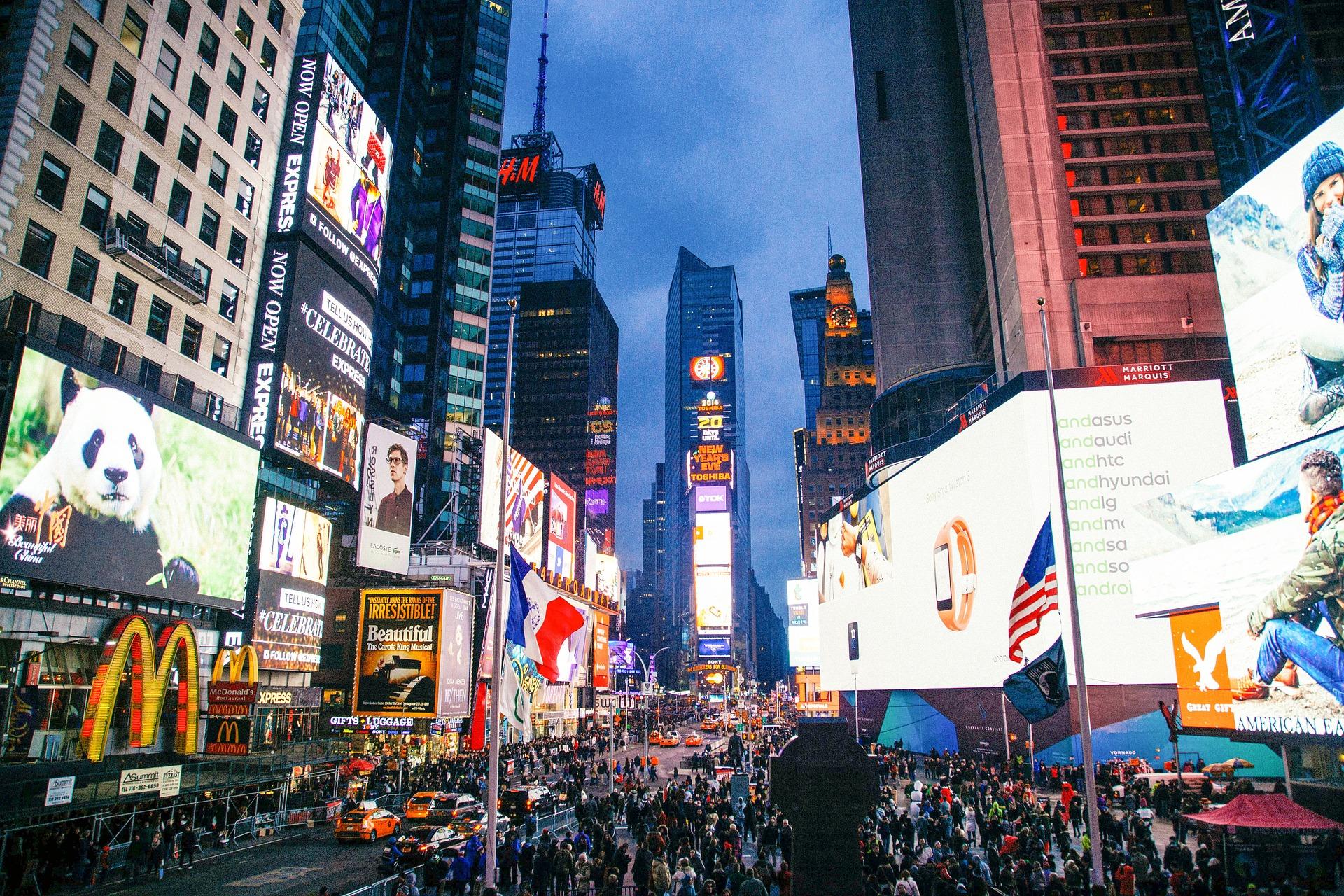 Qué ver en Times Square en Nueva York