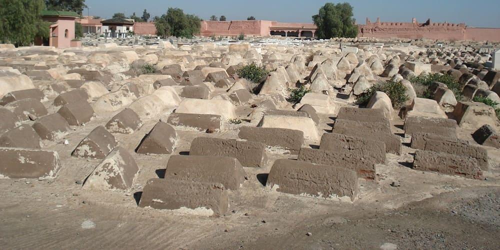 Cementerio judio en Mellah